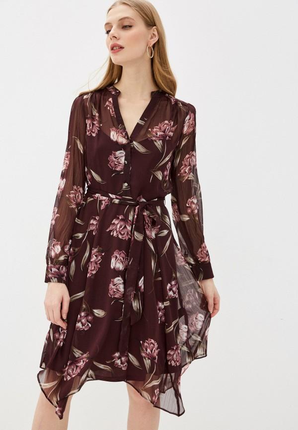 женское повседневные платье wallis, бордовое