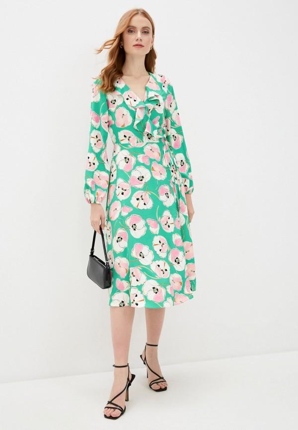 женское платье wallis, зеленое