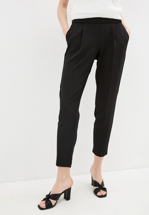 женские зауженные брюки wallis, черные