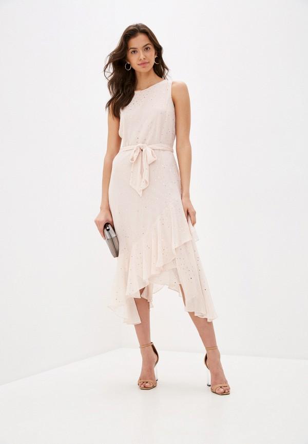 женское вечерние платье wallis, розовое