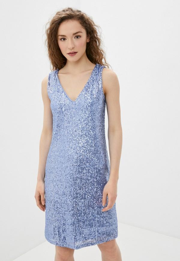 женское вечерние платье wallis, голубое
