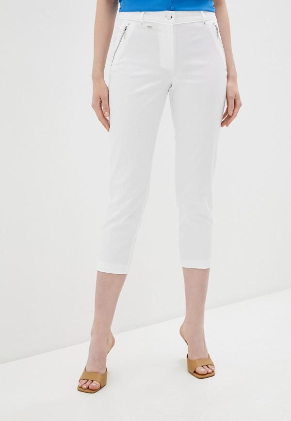 женские прямые брюки wallis, белые