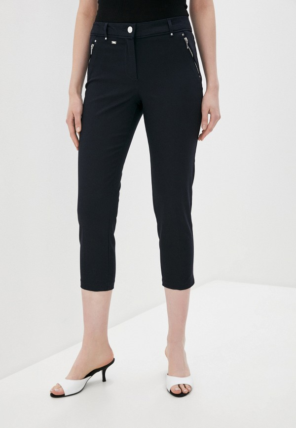 женские прямые брюки wallis, синие