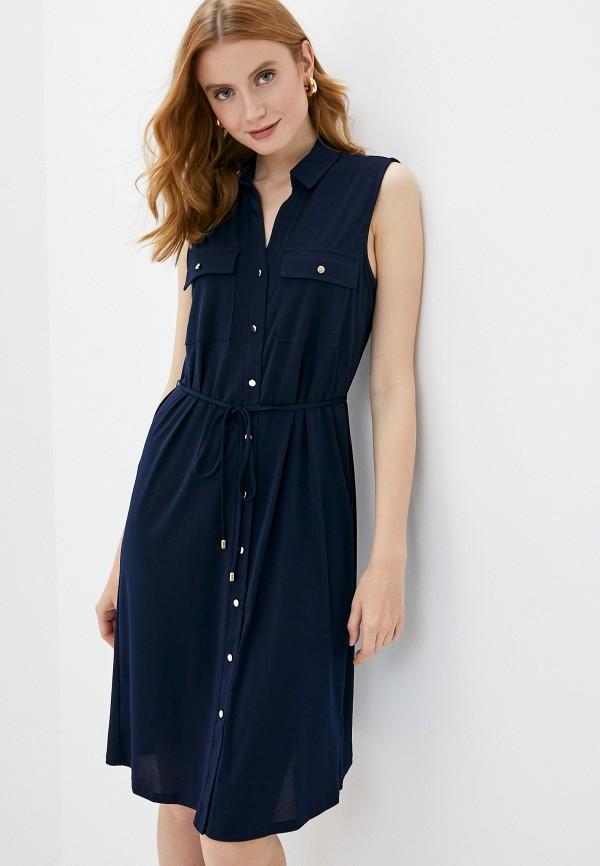 женское платье wallis, синее