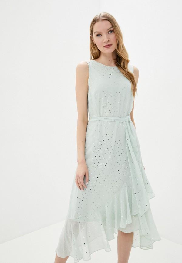 женское вечерние платье wallis, бирюзовое