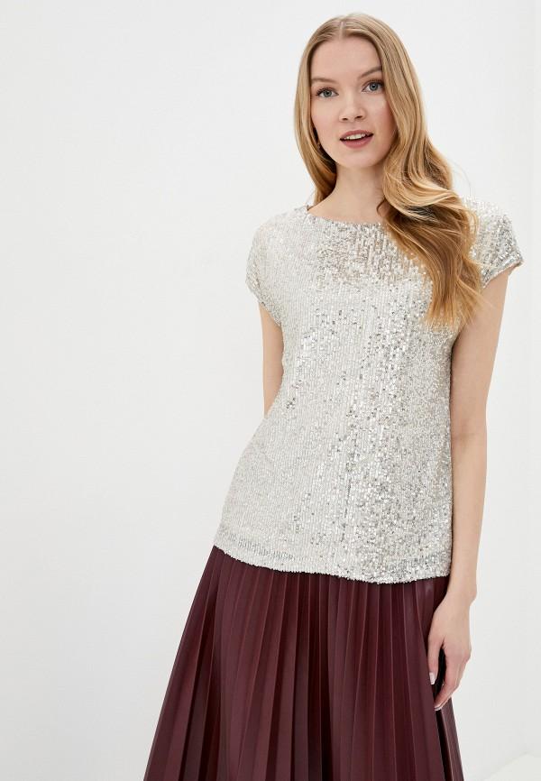 женская блузка wallis, серебряная