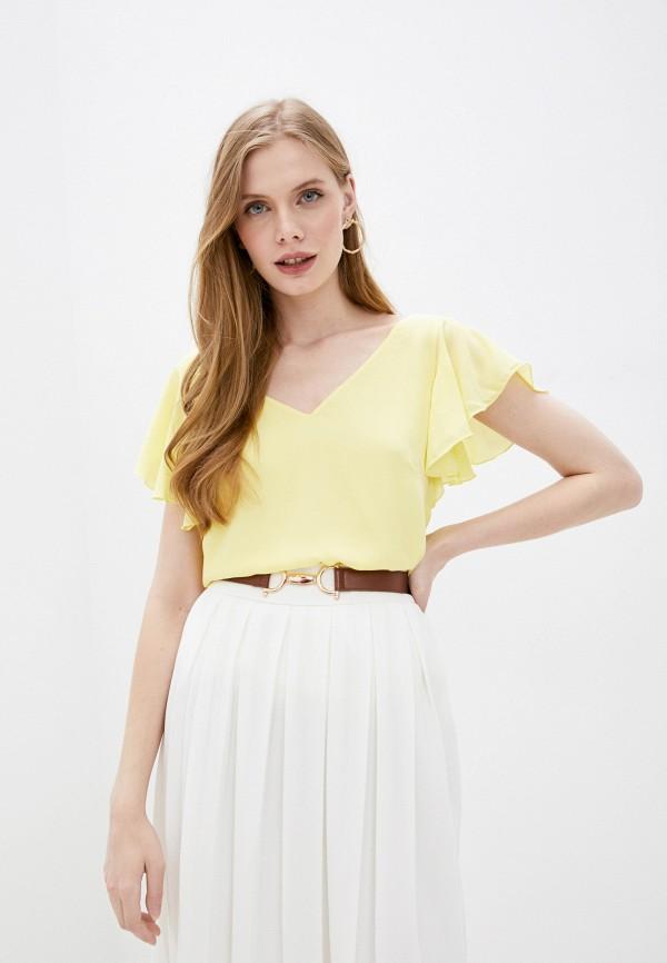 женская блузка wallis, желтая