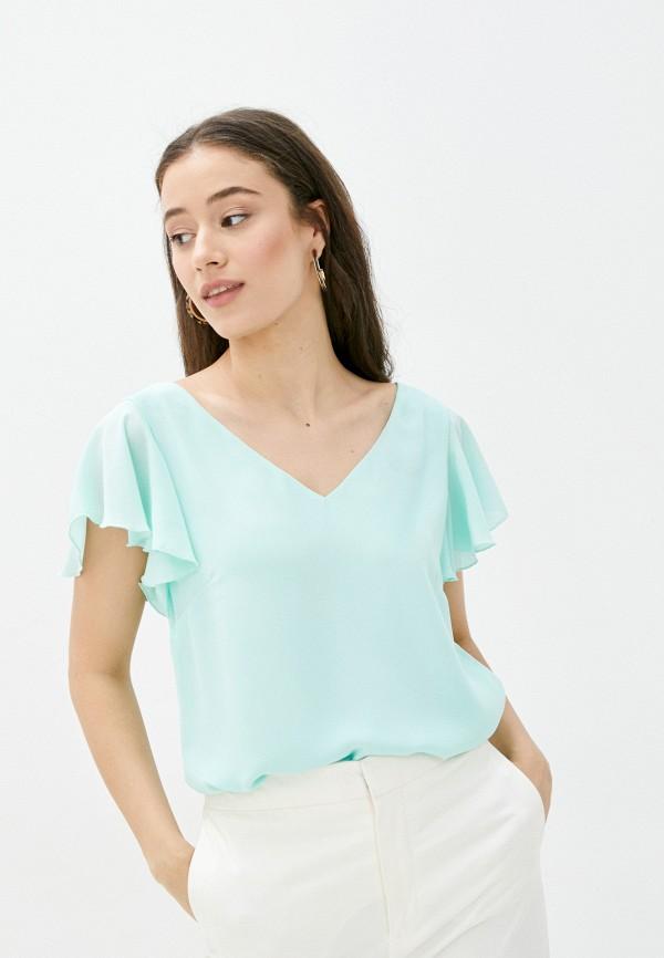 женская блузка wallis, бирюзовая