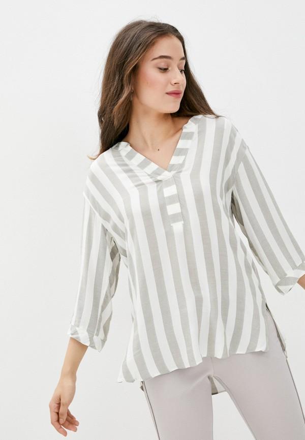 женская блузка wallis, серая