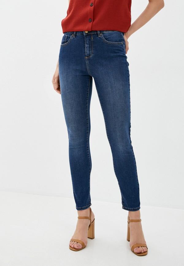 женские джинсы скинни wallis, синие