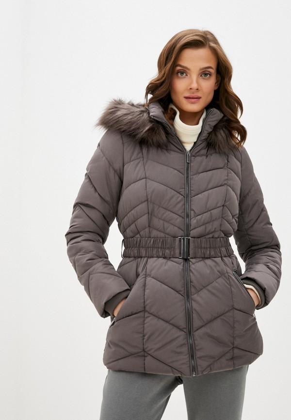 женская куртка wallis, коричневая
