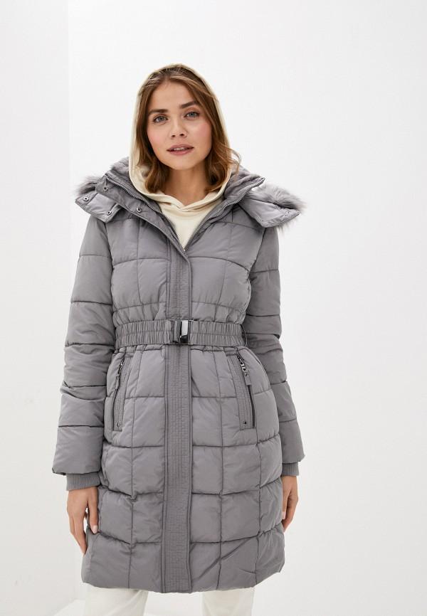 женская куртка wallis, серая