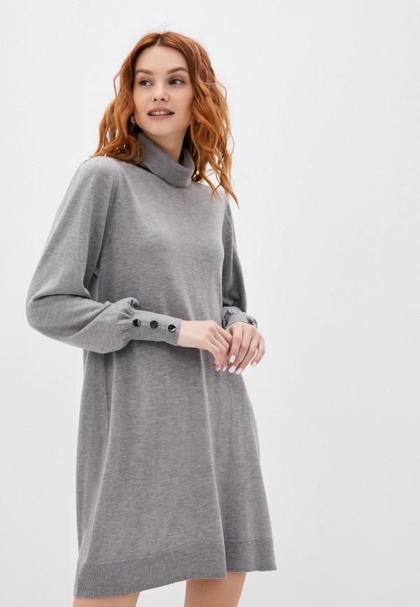 женское платье wallis, серое