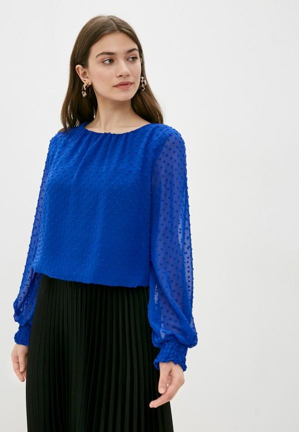женская блузка wallis, синяя