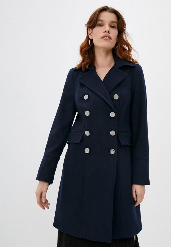 женское пальто wallis, синее