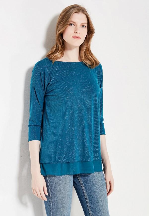 Блуза Wallis Wallis WA007EWZCI96 блуза тренд безупречная цвет синий бирюзовый