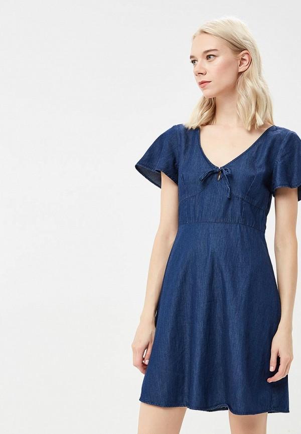 Платье джинсовое Warehouse Warehouse WA009EWBPVC9 платье warehouse warehouse wa009ewbpvc5