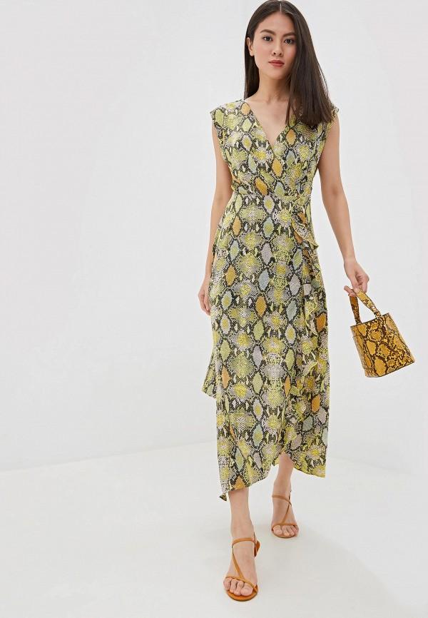 женское платье warehouse, разноцветное