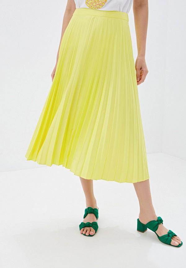 женская юбка warehouse, желтая