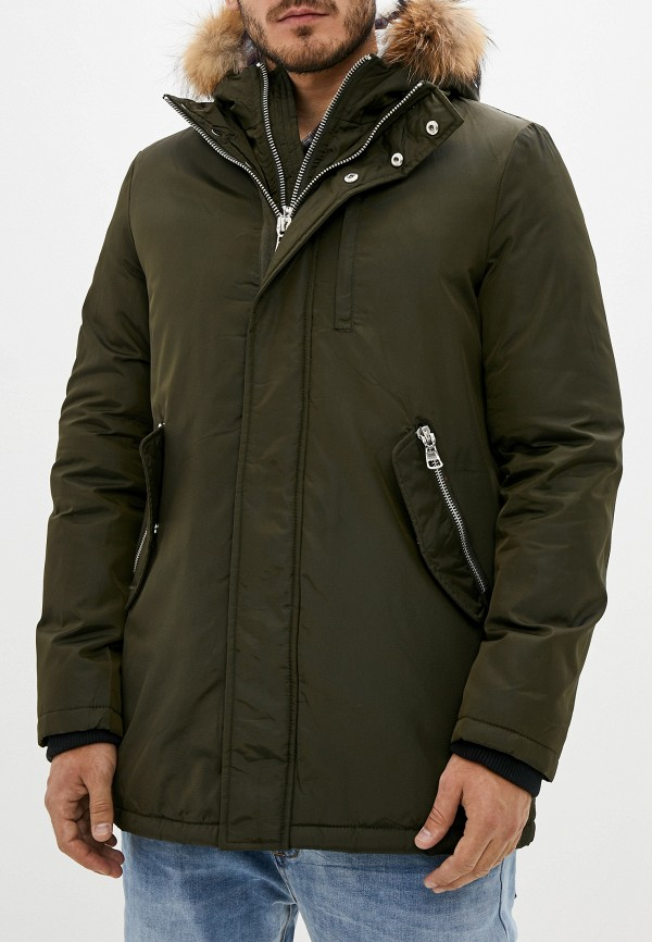 мужская куртка warren webber, хаки