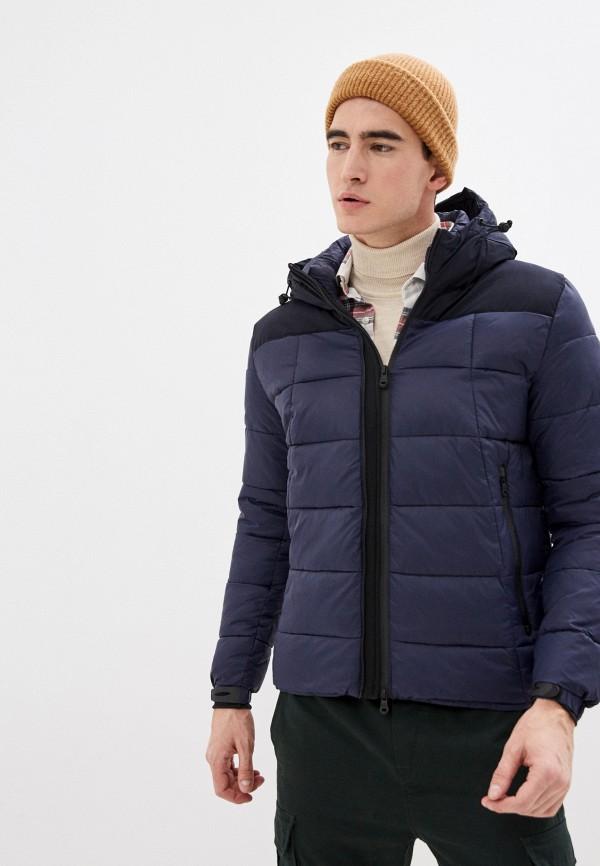 мужская куртка warren webber, синяя