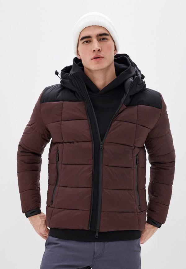 мужская куртка warren webber, коричневая