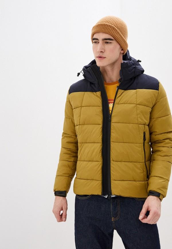 мужская куртка warren webber, желтая