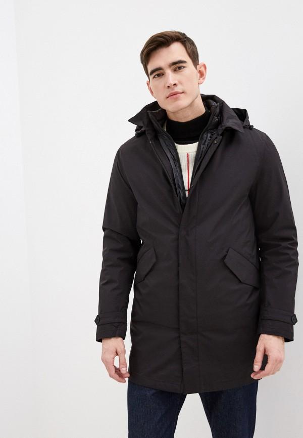 мужская куртка warren webber, черная