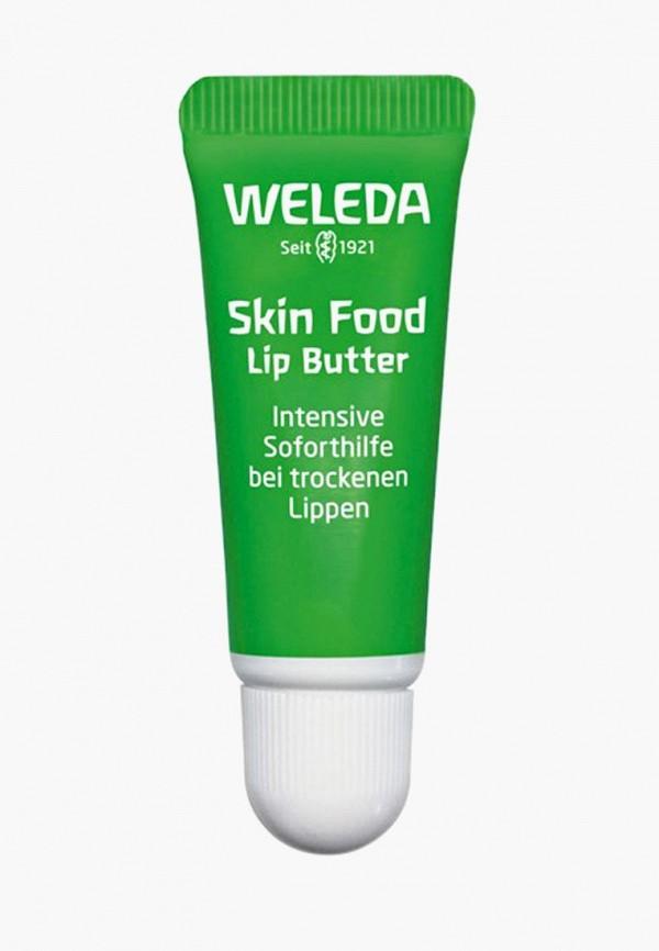 женский бальзам для губ weleda