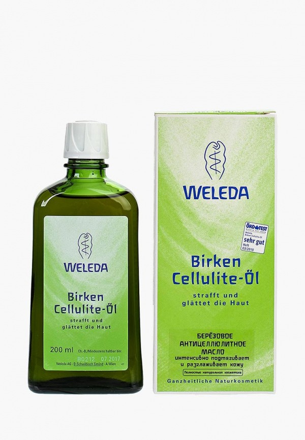 женское масло weleda