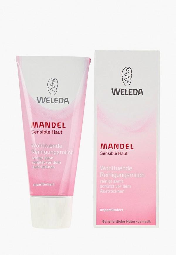 женская молочко для снятия макияжа weleda