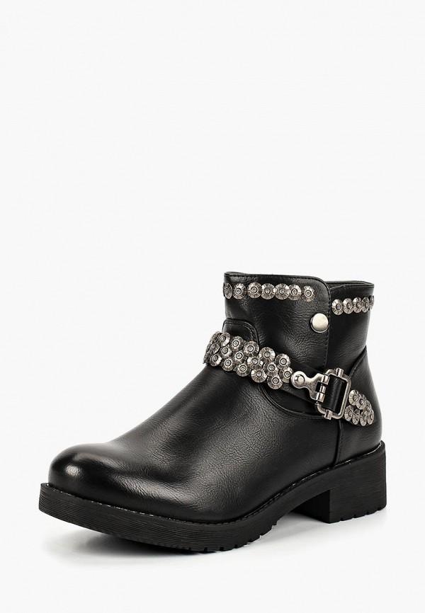 Купить Ботинки Wellspring, WE012AWCNZC3, черный, Осень-зима 2018/2019