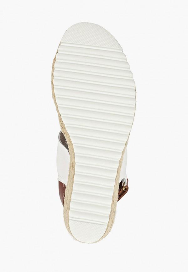 Фото 5 - женские босоножки Weinbrenner by Bata белого цвета