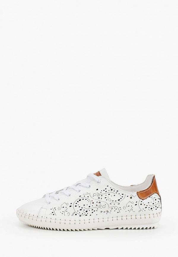 женские ботинки weinbrenner by bata, белые