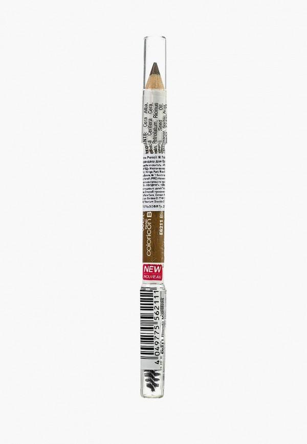 карандаш для глаз wet n wild, коричневый
