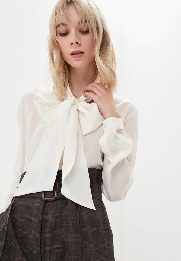 женская блузка max mara, белая