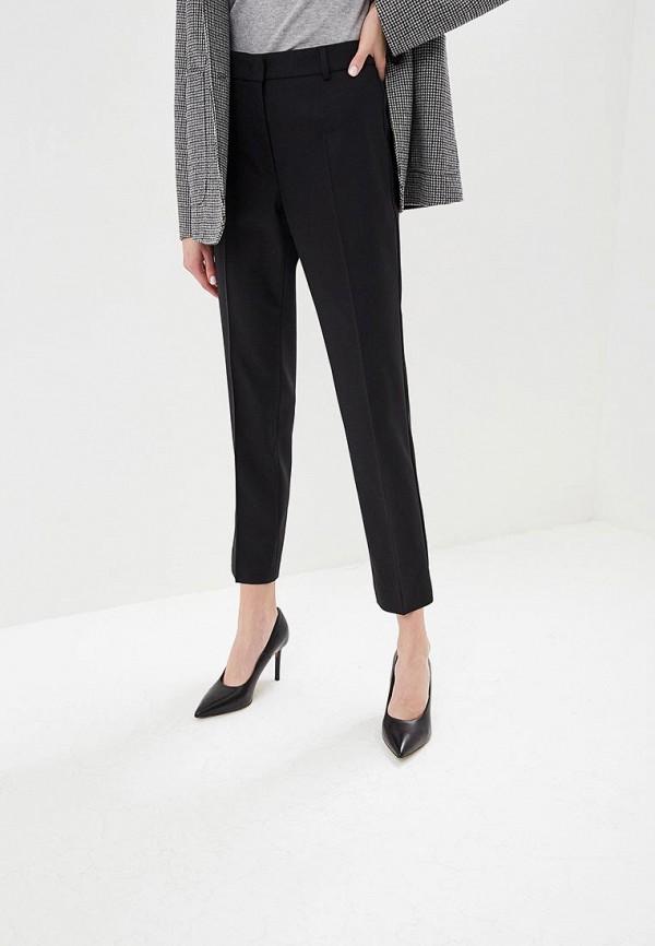 женские классические брюки max mara, черные