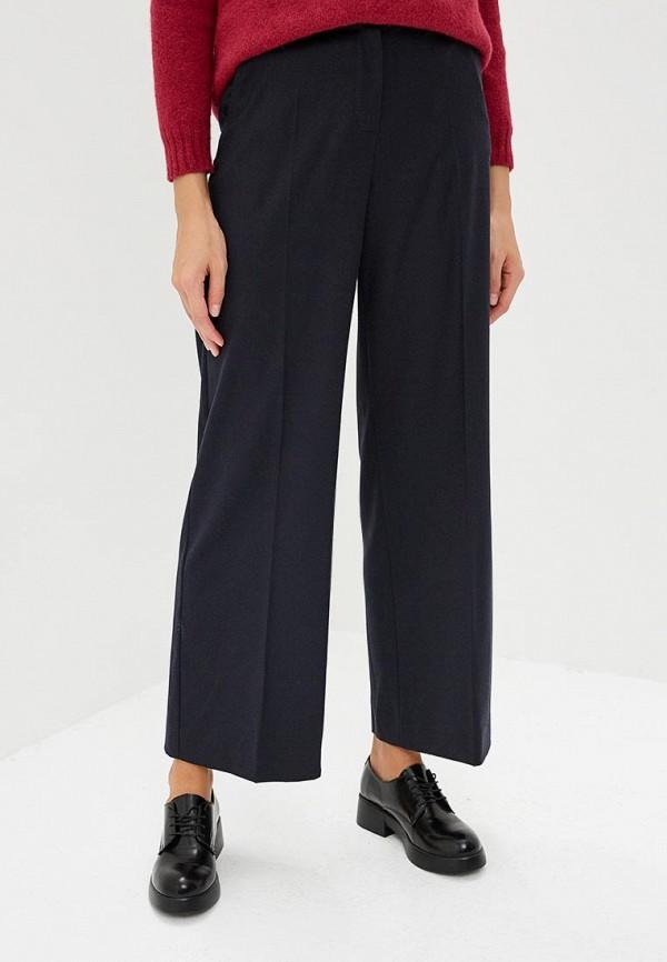 женские повседневные брюки max mara, синие