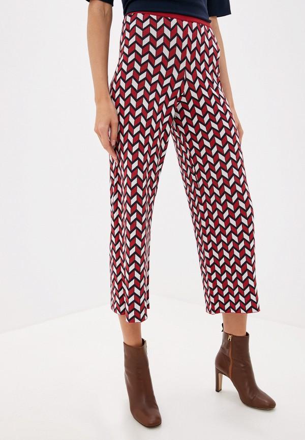 женские брюки weekend by max mara, красные