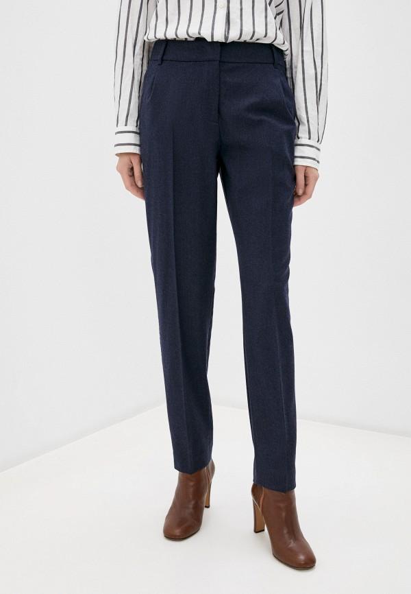женские классические брюки weekend by max mara, синие