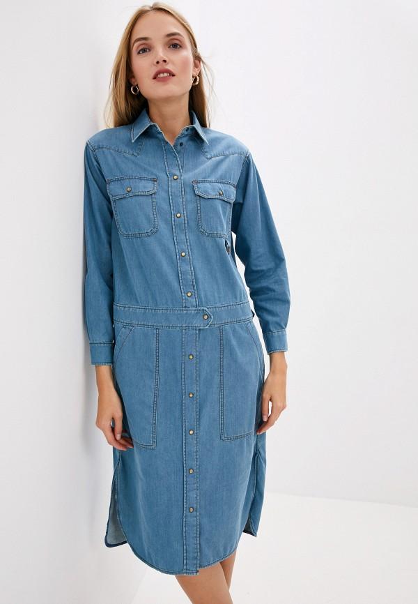 Платье джинсовое Weekend Max Mara Weekend Max Mara WE017EWLEZ90