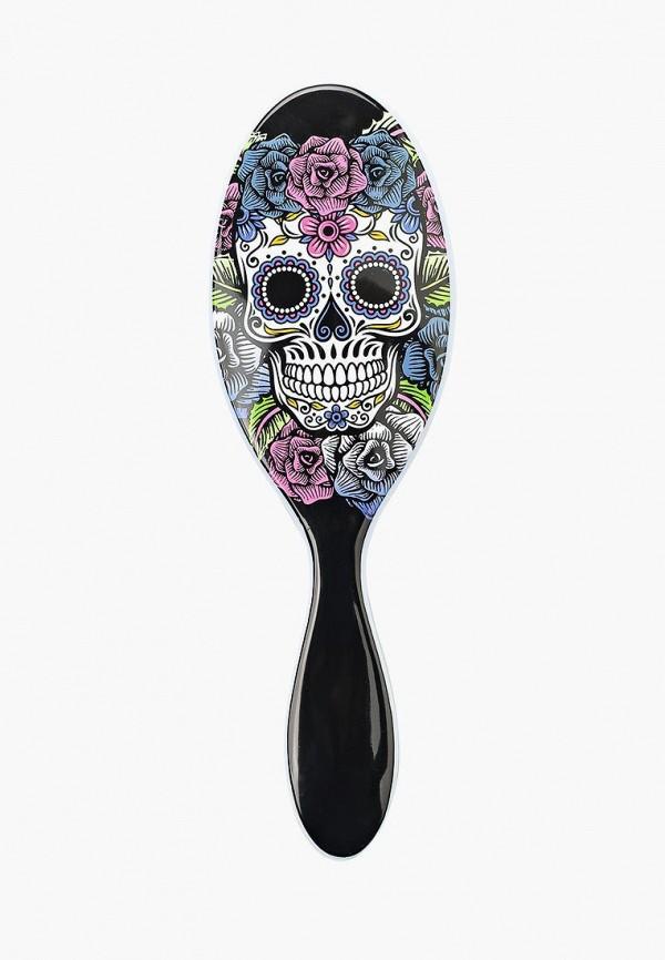Расческа Wet Brush для спутанных волос калавера, (фиолетово-розовая)