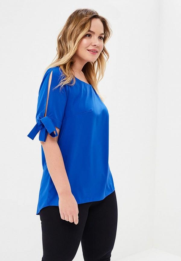 женская блузка wersimi, синяя