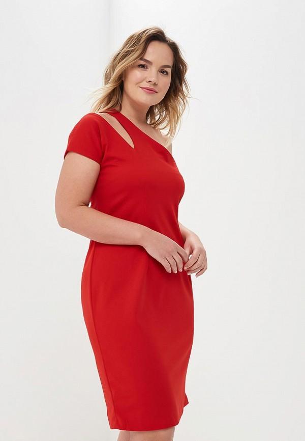 женское повседневные платье wersimi, красное