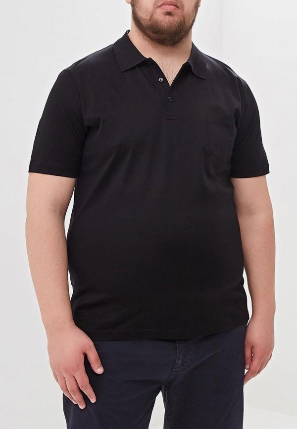 мужское поло westranger, черное