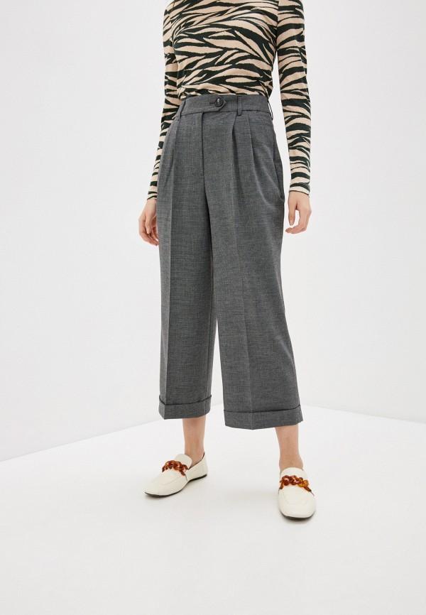 женские классические брюки whistles, серые