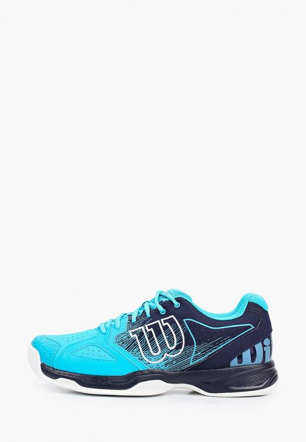 мужские низкие кроссовки wilson, синие