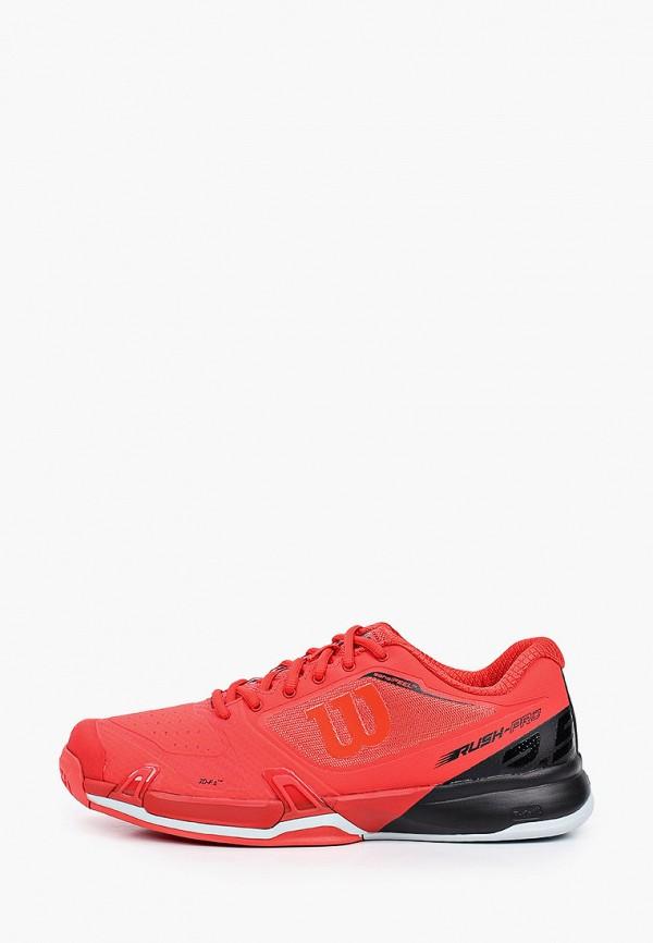 мужские низкие кроссовки wilson, красные