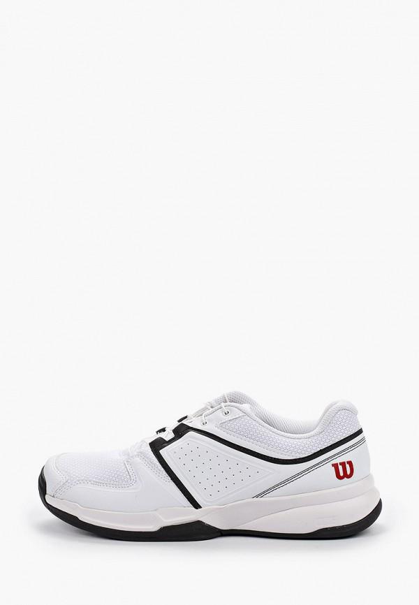 мужские низкие кроссовки wilson, белые