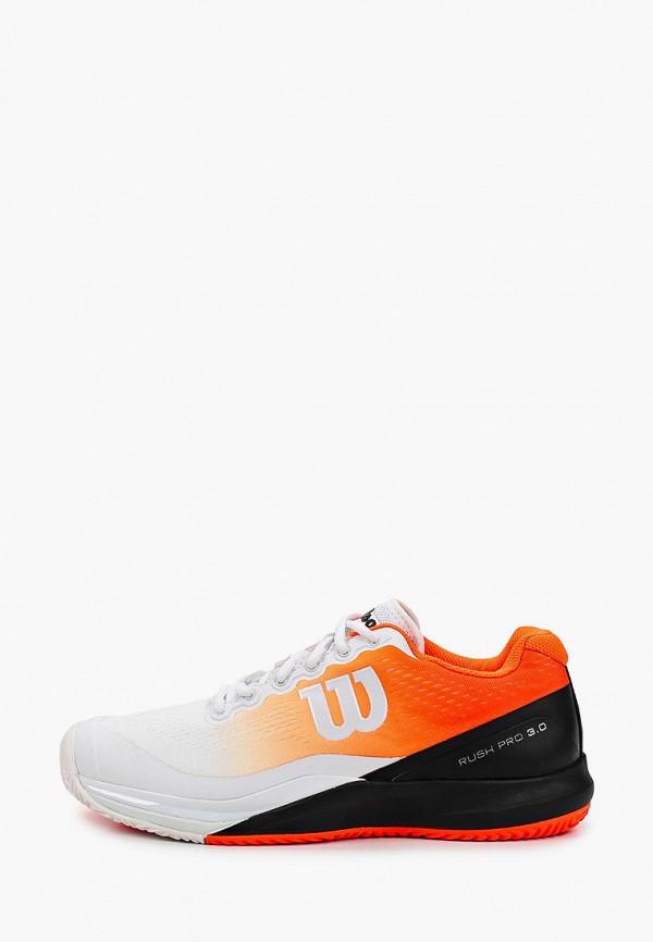 мужские кроссовки wilson, разноцветные